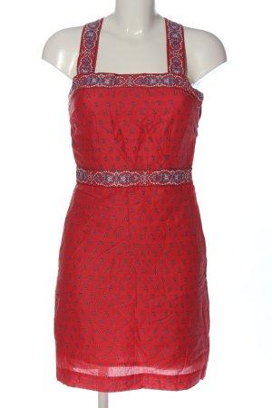 Pepe Jeans Sukienka mini Abstrakcyjny wzór W stylu casual
