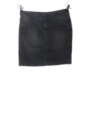 Pepe Jeans Minirock schwarz Casual-Look