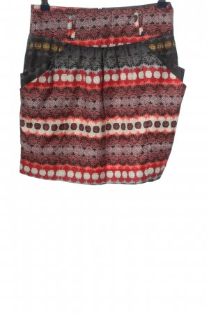 Pepe Jeans Minirock Allover-Druck Casual-Look