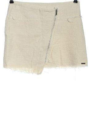 Pepe Jeans Mini-jupe blanc cassé style décontracté
