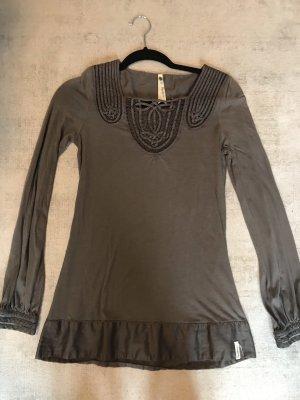 Pepe Jeans Tunique-blouse gris brun