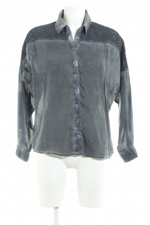 Pepe Jeans Oversized Bluse mehrfarbig Used-Optik