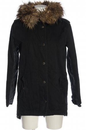 Pepe Jeans Parka negro look casual