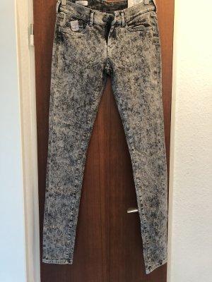 Pepe Jeans Pixie skinny regularwaist grau Waschung