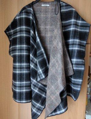 Pepe Jeans London Chaqueta cruzada color plata-gris oscuro Lana