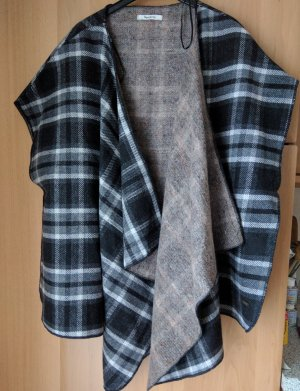 Pepe Jeans London Wraparound Jacket silver-colored-dark grey wool
