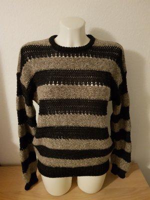Pepe Jeans Pull tricoté noir-gris brun