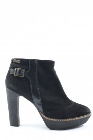 Pepe Jeans Reißverschluss-Stiefeletten blau Casual-Look