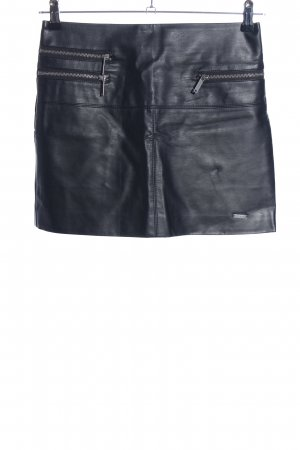 Pepe Jeans Gonna in ecopelle nero stile professionale