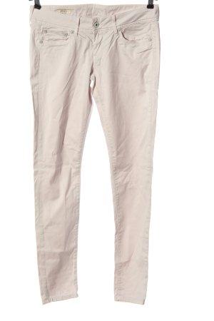 Pepe Jeans Pantalon cigarette blanc cassé style décontracté
