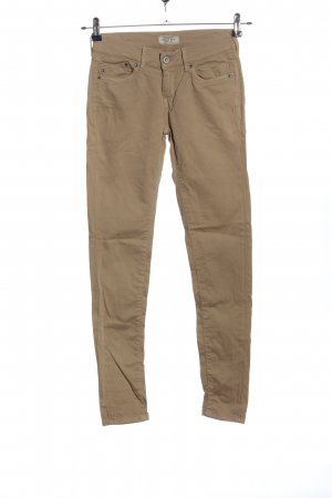 Pepe Jeans Drainpipe Trousers brown casual look