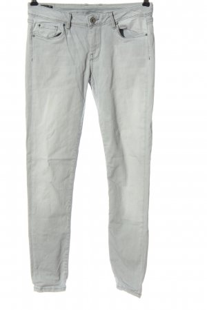 Pepe Jeans Drainpipe Trousers light grey casual look