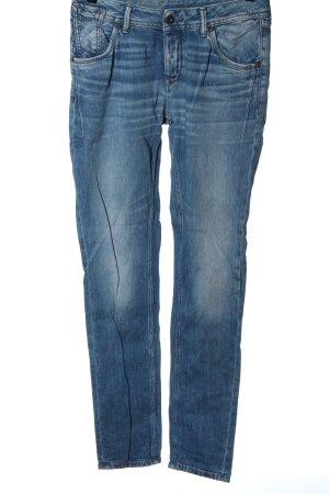 Pepe Jeans Jeansy rurki niebieski W stylu casual