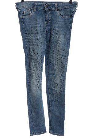 Pepe Jeans Jeans cigarette bleu style décontracté