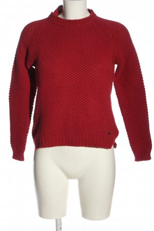 Pepe Jeans Rundhalspullover rot Casual-Look