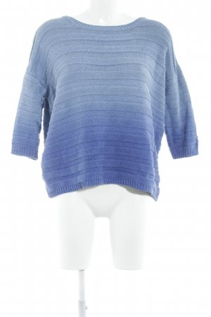Pepe Jeans Rundhalspullover blau-himmelblau Farbverlauf