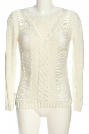 Pepe Jeans Rundhalspullover creme Casual-Look