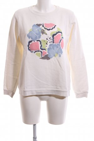 Pepe Jeans Rundhalspullover pink Blumenmuster Casual-Look