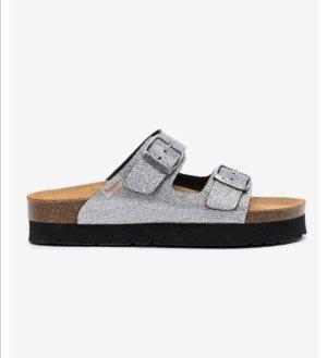 pepe Jeans Sandale Gr. 37 Silber neu