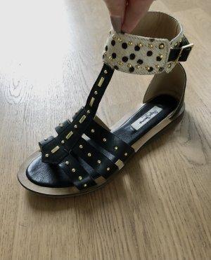 Pepe Jeans Sandalo romano nero-beige chiaro