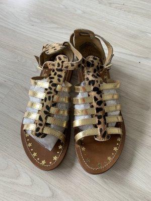 Pepe Jeans Sandały z rzemykami brązowy-złoto