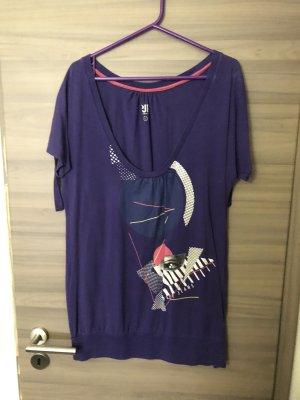 Pepe Jeans Top extra-large violet foncé