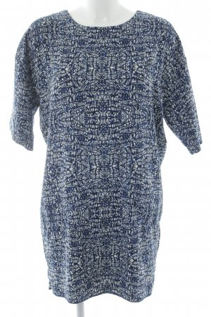 Pepe Jeans Shirtkleid abstraktes Muster Casual-Look