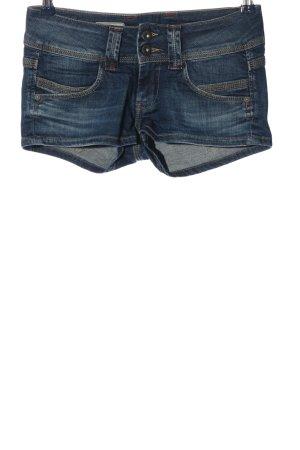 Pepe Jeans Short bleu style décontracté