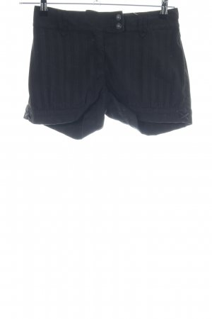 Pepe Jeans Shorts schwarz Streifenmuster Casual-Look