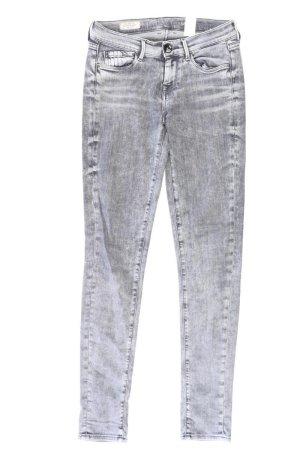 Pepe Jeans Skinny Jeans Größe W26 grau aus Baumwolle