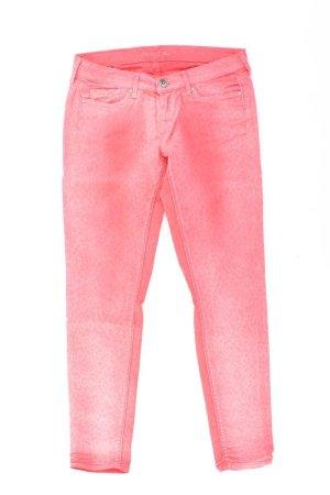 Pepe Jeans Skinny Jeans Größe W27 mit Tierdruck rot aus Polyester