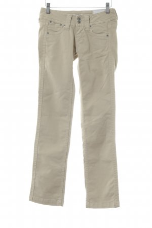 Pepe Jeans Skinny Jeans hellbeige Jeans-Optik