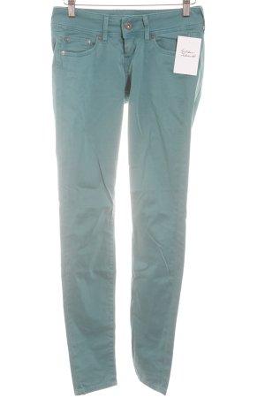 Pepe Jeans Skinny Jeans türkis-silberfarben Casual-Look