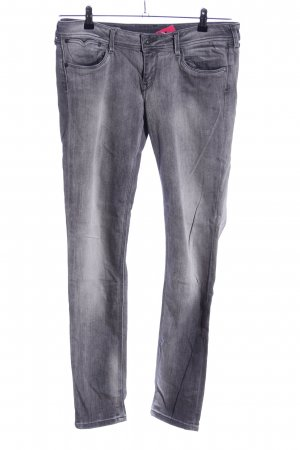 Pepe Jeans Slim jeans lichtgrijs casual uitstraling