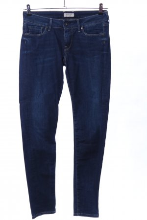Pepe Jeans Slim jeans blauw casual uitstraling