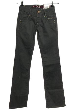 Pepe Jeans Jeansy o kroju boot cut czarny W stylu casual