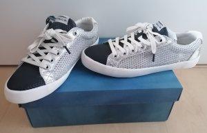 Pepe Jeans Sneaker Low in silber_schwarz