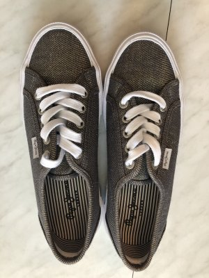 Pepe Jeans Sneakers schwarz/ Gold Glitzer *NEU*