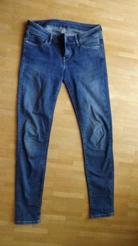 Pepe Jeans SOHO, Skinny, Mid Waist, Dunkelblau