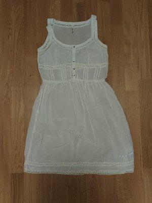 Pepe Jeans Sommerkleid Gr. 38 (M) weiß
