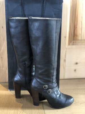 Pepe Jeans London Heel Boots anthracite-black