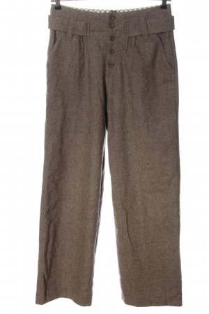 Pepe Jeans Jersey Pants brown flecked business style