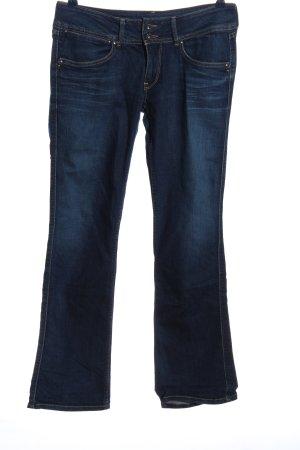 Pepe Jeans Straight-Leg Jeans blau Street-Fashion-Look