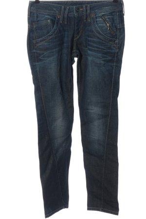 Pepe Jeans Jeansy z prostymi nogawkami niebieski W stylu casual