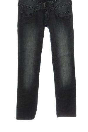 Pepe Jeans Jeansy z prostymi nogawkami czarny W stylu casual