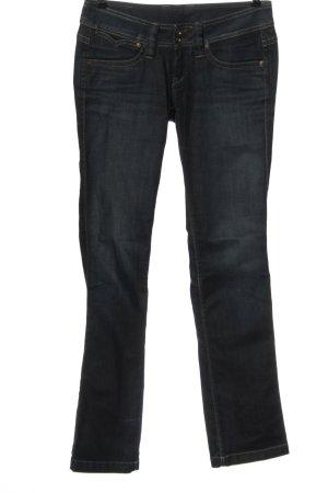Pepe Jeans Jeansy biodrówki niebieski W stylu casual