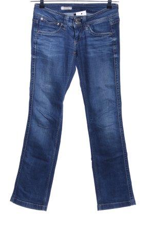 Pepe Jeans Jeans coupe-droite bleu style décontracté