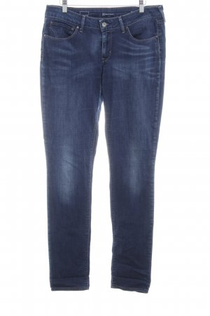 Pepe Jeans Jeans coupe-droite bleu style délavé