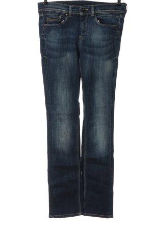 Pepe Jeans Straight-Leg Jeans blau Washed-Optik