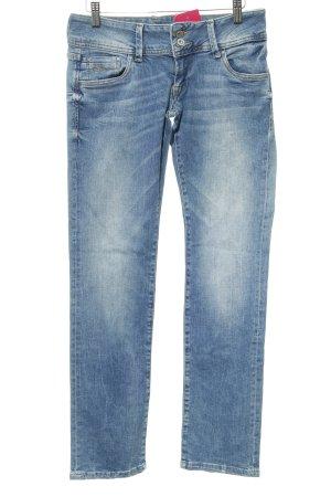 Pepe Jeans Jeans coupe-droite bleu clair Aspect de jeans